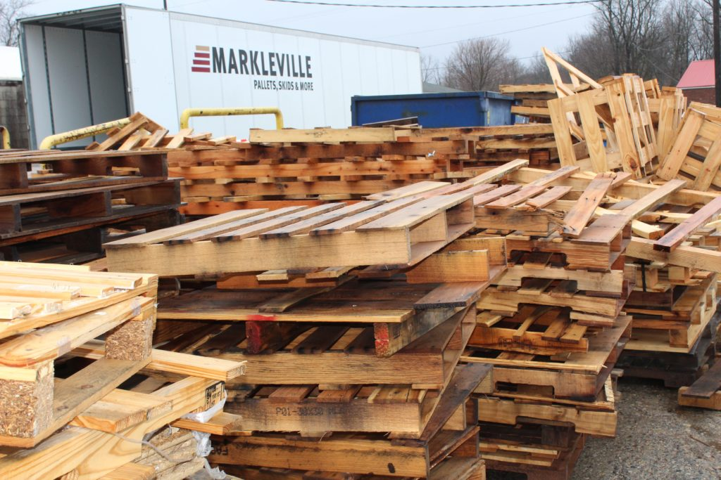 Markleville Return Pallets